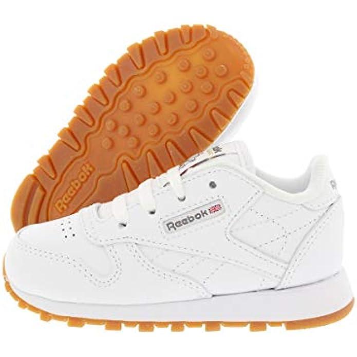 Reebok Unisex-Child Classic Leather Shoes-Big Kids Sneaker