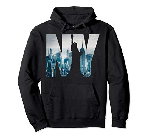 New York City Skyline Hoodie, Urban NYC Fashion Hoodie (York City New Sweatshirt)