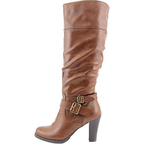 Style & Co. Frauen Rudyy Geschlossener Zeh Fashion Stiefel Cognac