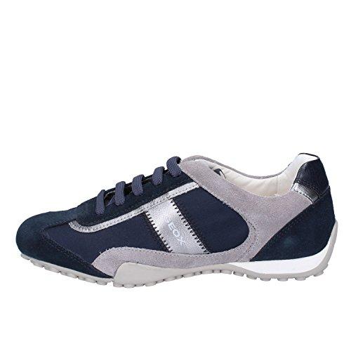 tessuto Sneakers Geox Camoscio Blu Donna 35 Eu 4AHHqg6w