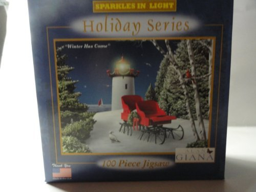 Holiday Series Sparkles in Light 100 Piece Jigsaw - Alan Giana