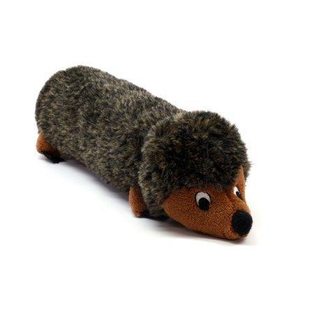 Kyjen 14-Inch Plush Puppies Round Boy Hedgehog Toy, My Pet Supplies