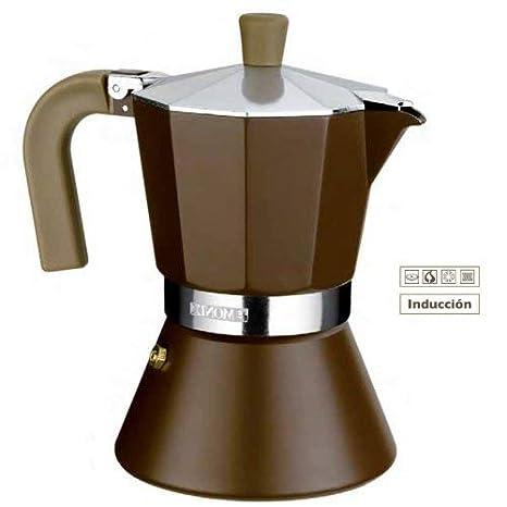Amazon.com: Braisogona Monix Cream - Cafetera (12 tazas ...
