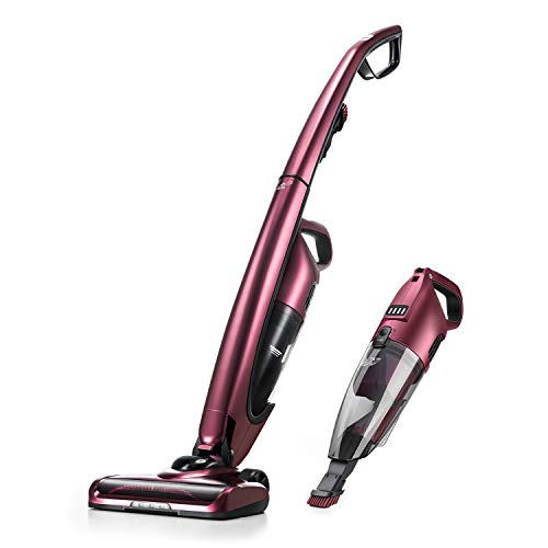PUPPYOO Cordless Upright Vacuum Cleaner-WP511 (Renewed)