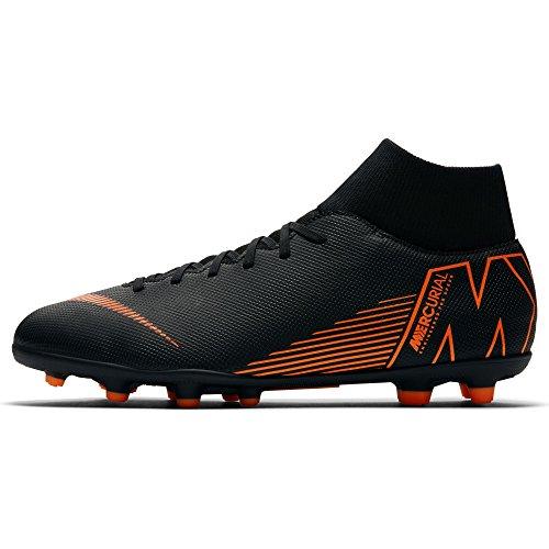 108cda7a3 Nike Superfly 6 Club FG/MG Mens Football Boots AH7363 Soccer Cleats (UK 9  US 10 EU 44, Black Total Orange White 081)