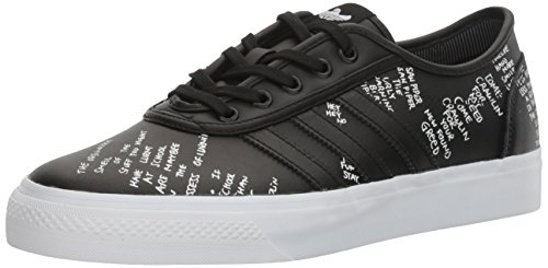 Adidas Heren Adi-ease Geclassificeerd Fashion Sneaker Zwart / Wit / Blauwe Vogel