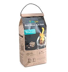 BioLite Premium Food-Safe Hardwood Grilling Pellets made by  famous BioLite