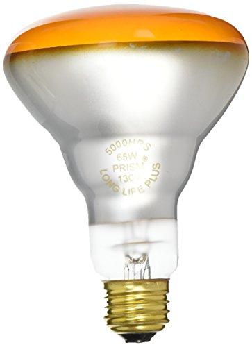 Amber Prisms (Prism BC9270 404028 - BR30AMB65/5 - Amber 65W Incandescent Flood Light)