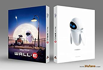 WALL-E (2-disc Blu-ray Steelbook) [Blufans Exclusive Lenticular Slip; only 1400 worldwide; Region A/C]
