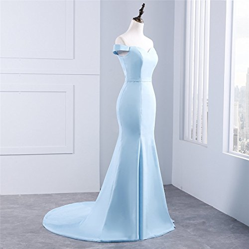 Drehouse Les Manches Courtes Robes De Bal Sirène Femmes Robe De Demoiselle D'honneur Longue Taille Plus Rose