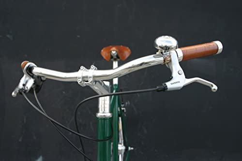 BROOKS BLG4 Manopole in vera pelle Bicicletta classica 100 mm 100 mm
