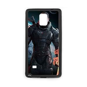 Funda Samsung Galaxy Note caja del teléfono celular 4 funda efecto E1I9YU masa Negro