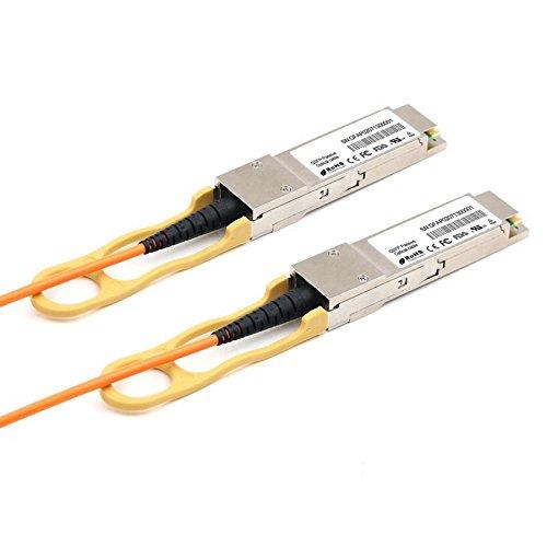 (LODFIBER 25m (82ft) QSFP-40G-D-AOC-25M H3C Compatible 40G QSFP+ Active Optical Cable)