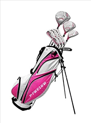 Precise Premium Complete Set, Ladies, Left Hand, Pink