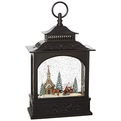 "RAZ Imports Musical 11"" TOWN SCENE LIGHTED WATER LANTERN from RAZ Imports"