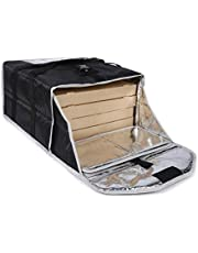 Insulated Pizza Delivery Bag for Food Transport,Large Size Food Warmer for Hot/Cold Food for Uber Eats/DoorDash/Grubhub/Catering