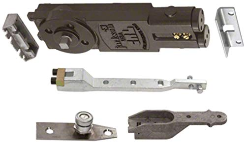 C.R. LAURENCE 21101AP03 CRL Jackson Medium Duty 90 Degree Non Hold-Open Overhead Concealed Closer with