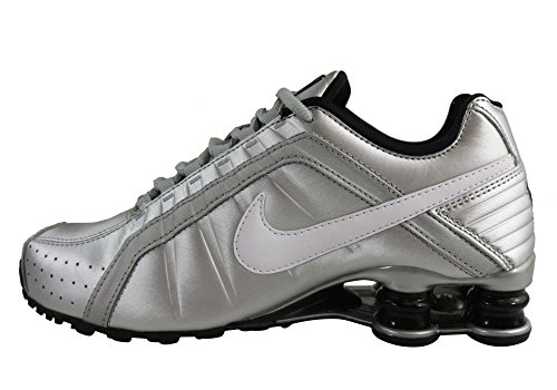 Silver Wmns Silver White junior Nike black Metallic Metallic Shox xI5RxqwO
