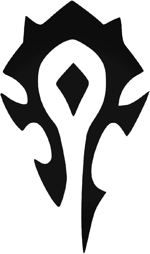 Amazon Com World Of Warcraft Horde Symbol Vinyl 5 5 Inches Color Black Decal Laptop Tablet Skateboard Car Windows Sticker Computers Accessories We have a massive amount of desktop and mobile if you're looking for the best horde symbol wallpaper then wallpapertag is the place to be. world of warcraft horde symbol