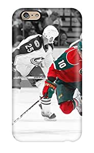 For Iphone 6 plus Premium Tpu Case Cover Minnesota Wild Hockey Nhl (19) Protective Case