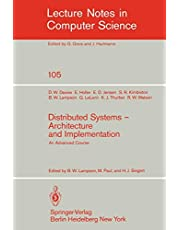 Distributed Systems - Architecture and Implementation: An Advanced Course
