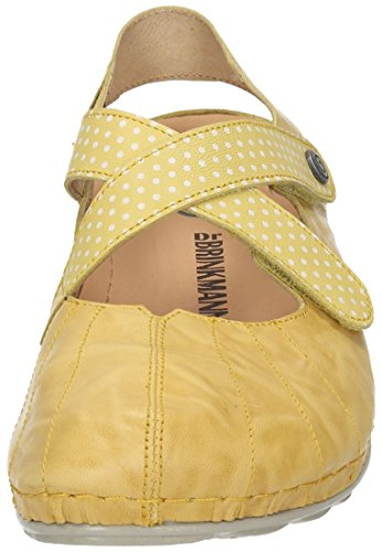 Dr. Brinkmann Damen Sandalette Gelb