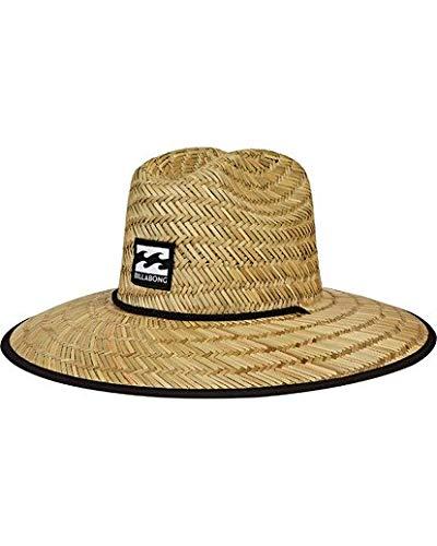 Billabong Print Hat - Billabong Men's Tides Print Lifeguard Straw Hat Navy One Size