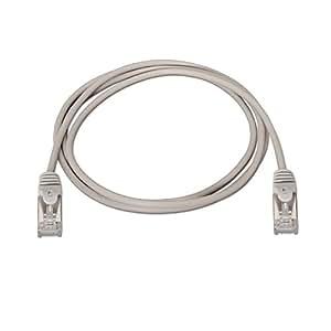 NanoCable 10.20.0803 - Cable de red Ethernet RJ45 Cat.6 FTP AWG24, 100% cobre, Gris, latiguillo de 3mts