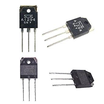 jrl amplificador de potencia de audio transistor TO-3P silicona BJT: Amazon.es: Amazon.es
