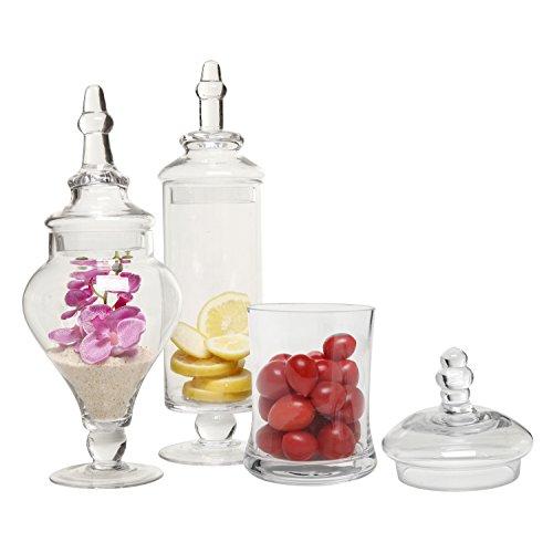 Tall apothecary jar