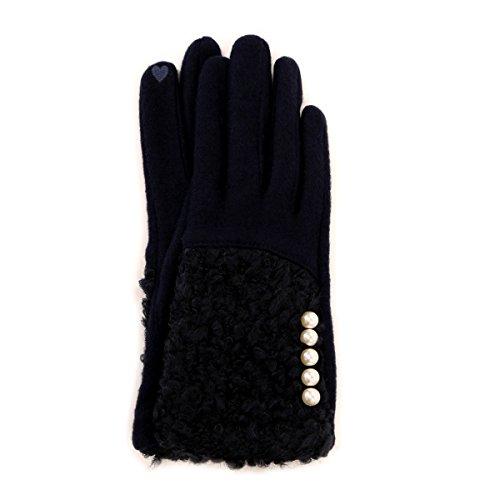 コラージュ ブークレー & パール タッチパネル対応 手袋 ワンサイズ