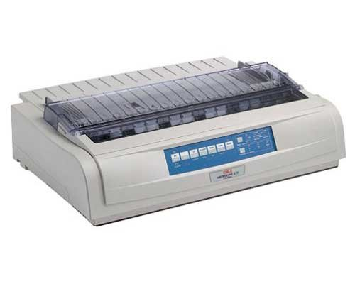 OKI 62418801 Matrix MICROLINE 421 Dot Matrix Printer (9-pin) (570 cps) (128 KB) (240 x 216 dpi) (Max Duty Cycle 17000 Pages) (Parallel) (USB) (Energy Star)