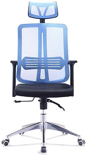 Silla de oficina con respaldo medio ergonomico Ejecutivo oficina silla con ruedas giratoria de escritorio silla del acoplamiento de tareas Con armas de altura ajustable ordenador silla for la ayuda tr