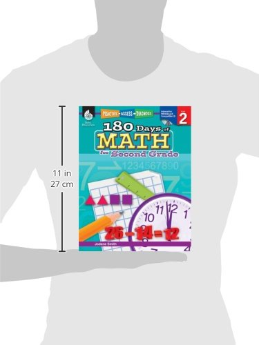 Amazon.com: 180 Days of Math for Second Grade (180 Days of ...