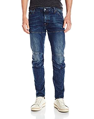Men's 5620 3d Slim Jeans in Black Pintt Stretch Denim