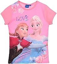 Disney Frozen Elsa and Anna Snow Queen Long and Short Sleeve Tops