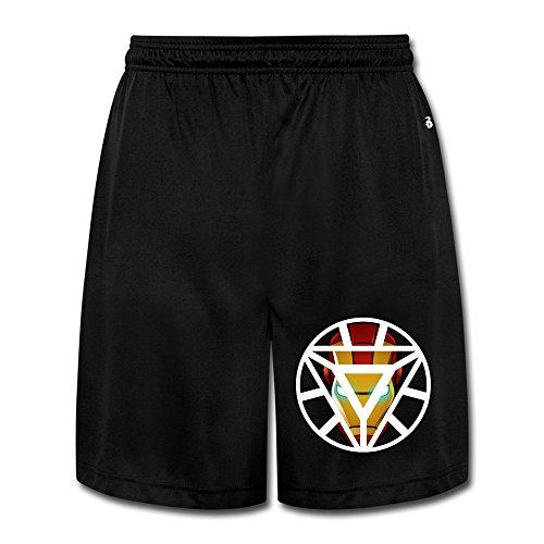 [Iron Man Iron Man Sweatpants Short Pants Gentleman Comfortable] (Hulkbuster Costume Cosplay)