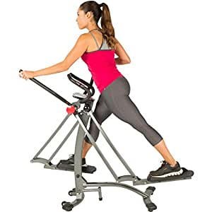 Fitness Reality Dual Action/Multi-Direction Air Walker X1 with Heart Pulse Sensors