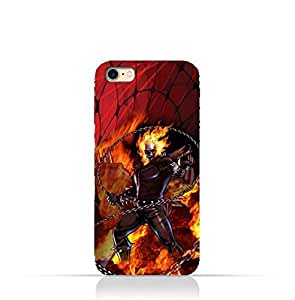 Iphone 6/6s TPU Protective Silicone Case with Ghost Rider Design