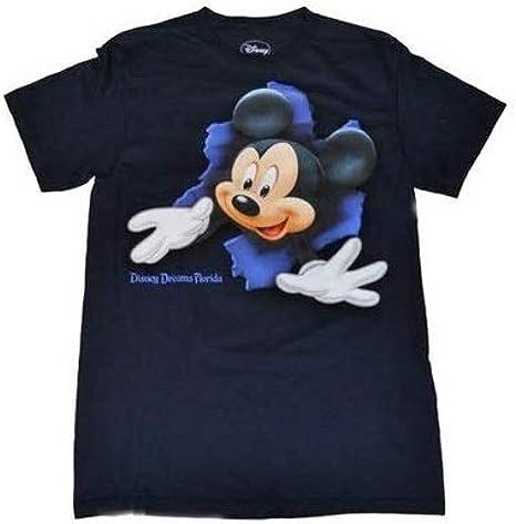 Disney Mickey Mouse parte delantera y trasera Boy de ruptura T Camisa – azul marino