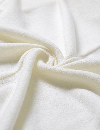 Nearkin -  Cardigan  - Maniche lunghe  - Uomo bianco NKNKCD1631-IVORY XX-Large