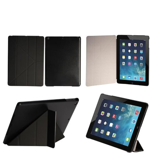 Maximal Power PU Leather Folio Stand Ultra Slim Cover Case for Apple iPad 5, iPad Air, Black (POU IPADAIR/BK) by MaximalPower (Image #7)