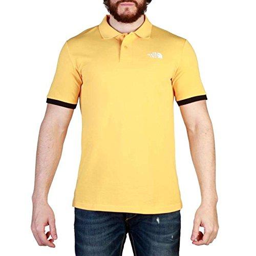Yellow Polo Polo Piquet North The M Face Uomo c0O4atq1T