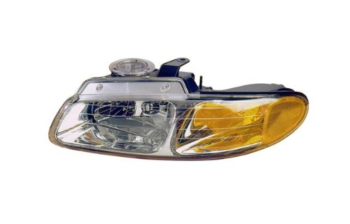 QP D113M/N-a Dodge Caravan Passenger/Driver Lamp Assembly Headlight 2-pc Pair
