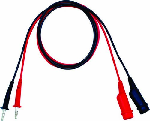 3A Current for GPR-U//H//M//GPC//GPS//PPE//PPS//PPT//PSS//PST Series Power Supplies GW Instek GTL-105A Banana//Alligator Head Test Lead