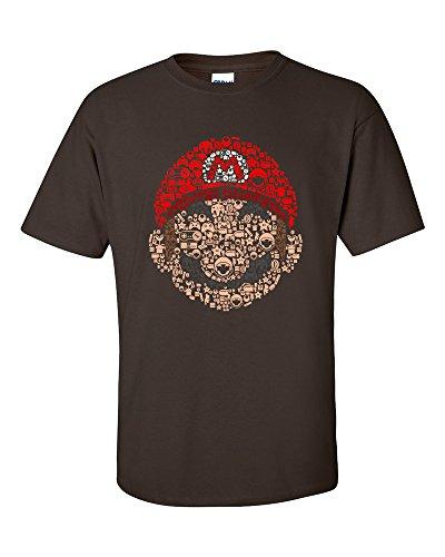 Homme Elements Just Controllers Nerds T Mario Marron shirt Icons Not E1qgx6gw