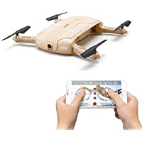 Voguego FPV Pocket Quadcopter Drone with 2MP Camera, 360 Rolls Headless Gravity Sensor Fold Helicopter