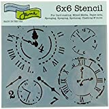The Crafter's Workshop Mini Time Travel Template, Black/ White