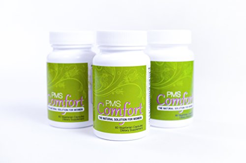 PMS Comfort: Natural Herbal Hormonal Support for PMS & PMDD Symptoms (3 Months Supply)