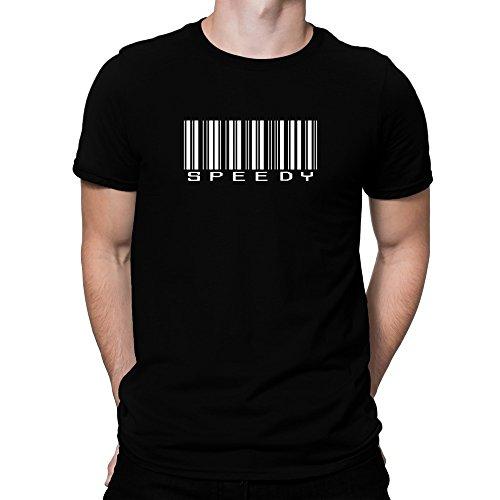 Teeburon speedy Barcode T-Shirt